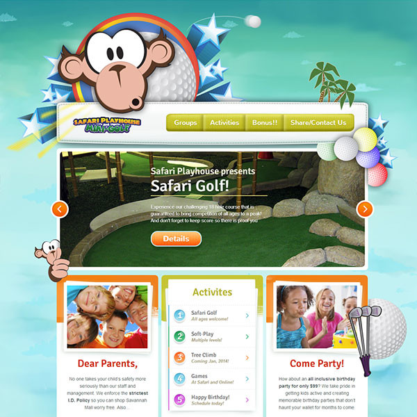 Safari Playhouse